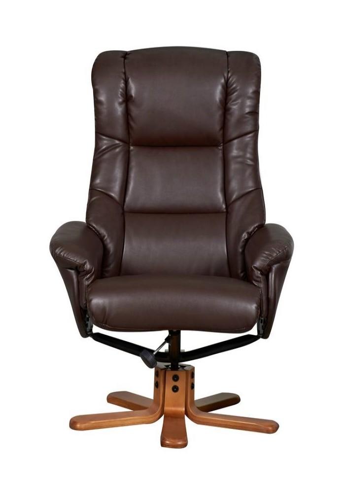 Chicago Luxury Recliner 6922 Nut Brown 121 Office