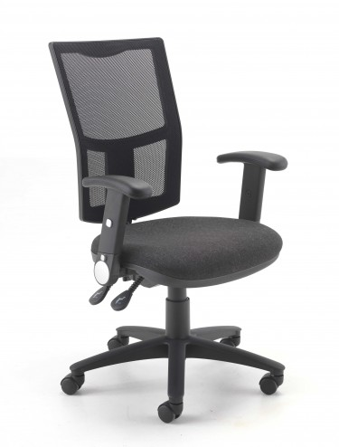 TC Calypso II Mesh Office Chair CH2803+AC1082 w/ Folding Arms