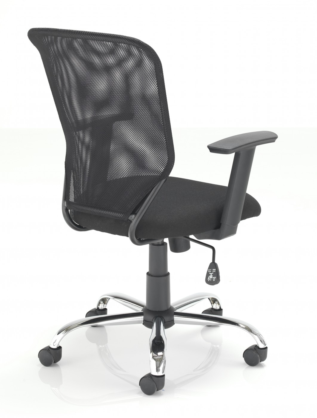 tc start mesh office chair ch1743bk enlarged view