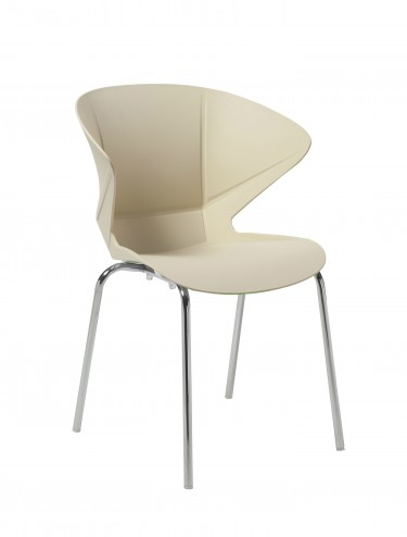 Cappuccino Lightweight Poly Chair BCP/Y480/CM