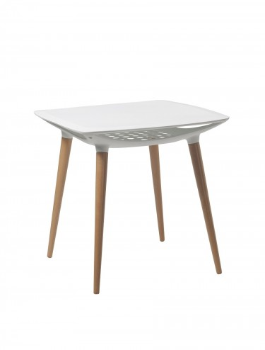 Espresso Lightweight Poly Table BTP/Y442/WH