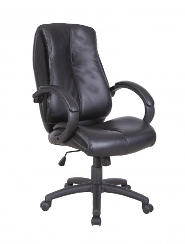 Eliza Tinsley Omega Leather Managers Chair BCL/T450/BK
