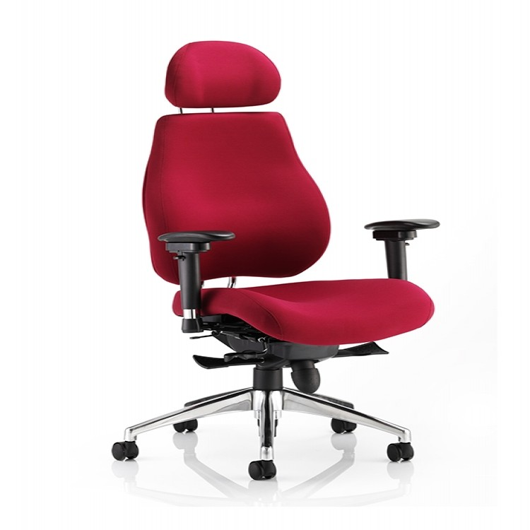 Dynamic Chiro Plus Office Chair With Headrest 121 Office Furniture