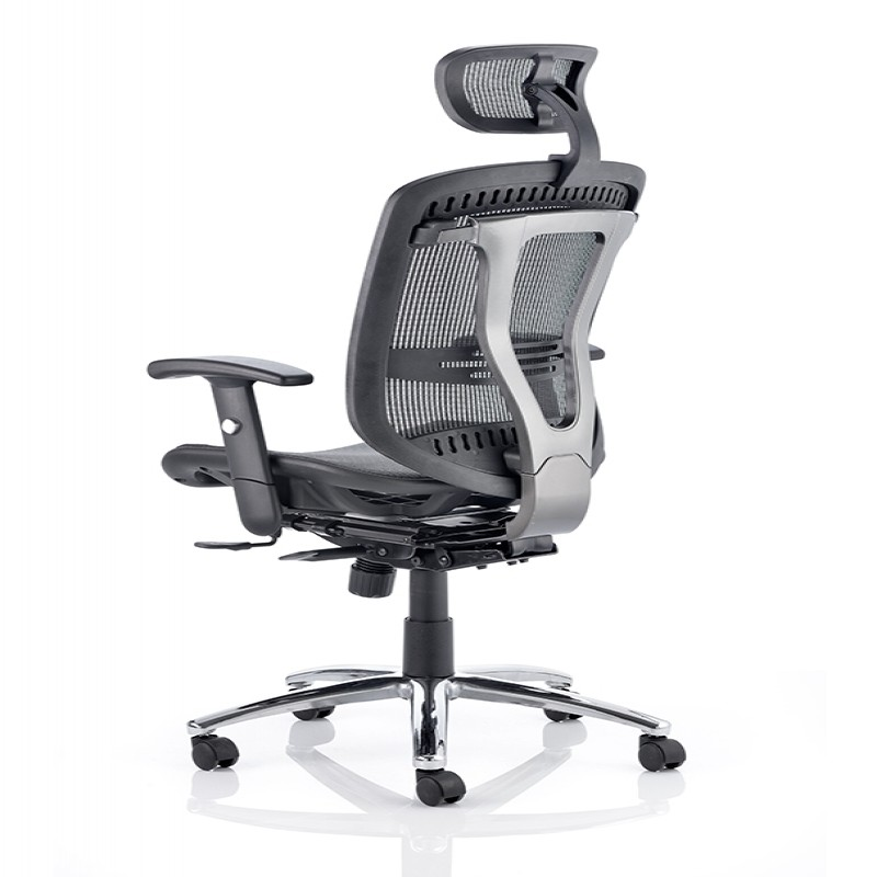 Dynamic Mirage 2 Executive Mesh Office Chair With Headrest