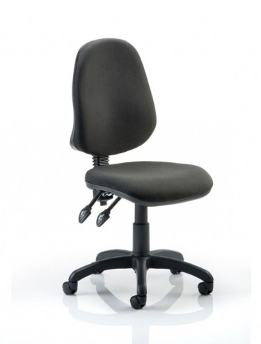 Office Chairs - Eclipse 2 Fabric Operator Chairs in Black DE02BLK