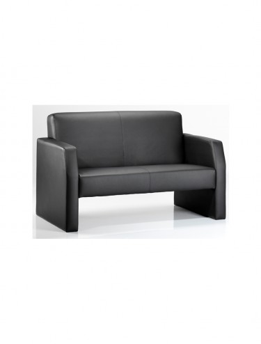 Oracle Leather Reception Twin Chair