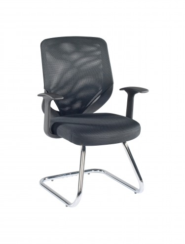Alphason Atlanta Mesh Visitors Chair AOC9201-V-BLK
