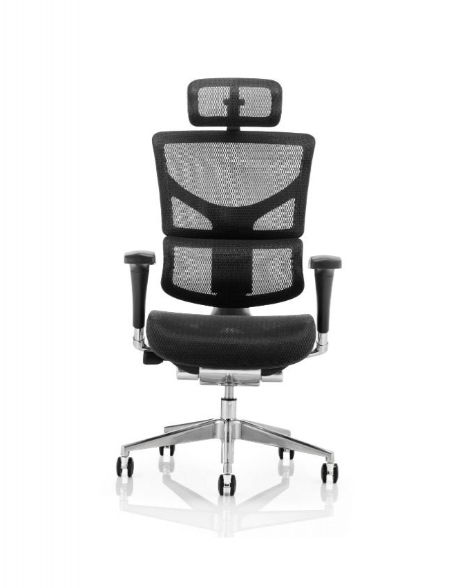 Ergo Dynamic Mesh Back Office Chair EOHRBFBLKMESH 121 Office Furniture