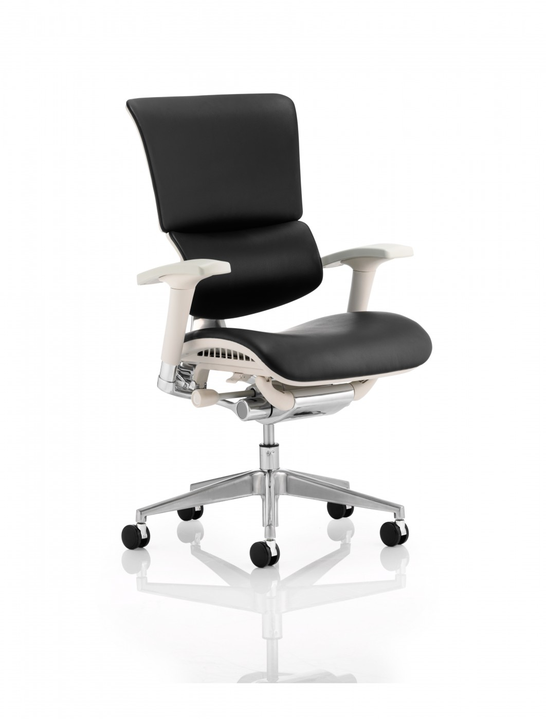 Ergo Dynamic Leather Office Chair EO01GFBLTHR 121 Office Furniture