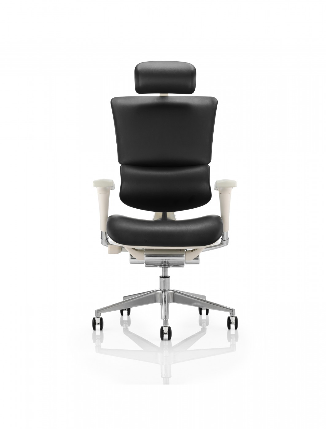 Ergo Dynamic Leather Office Chair EOHRGFBLTHR 121 Office Furniture