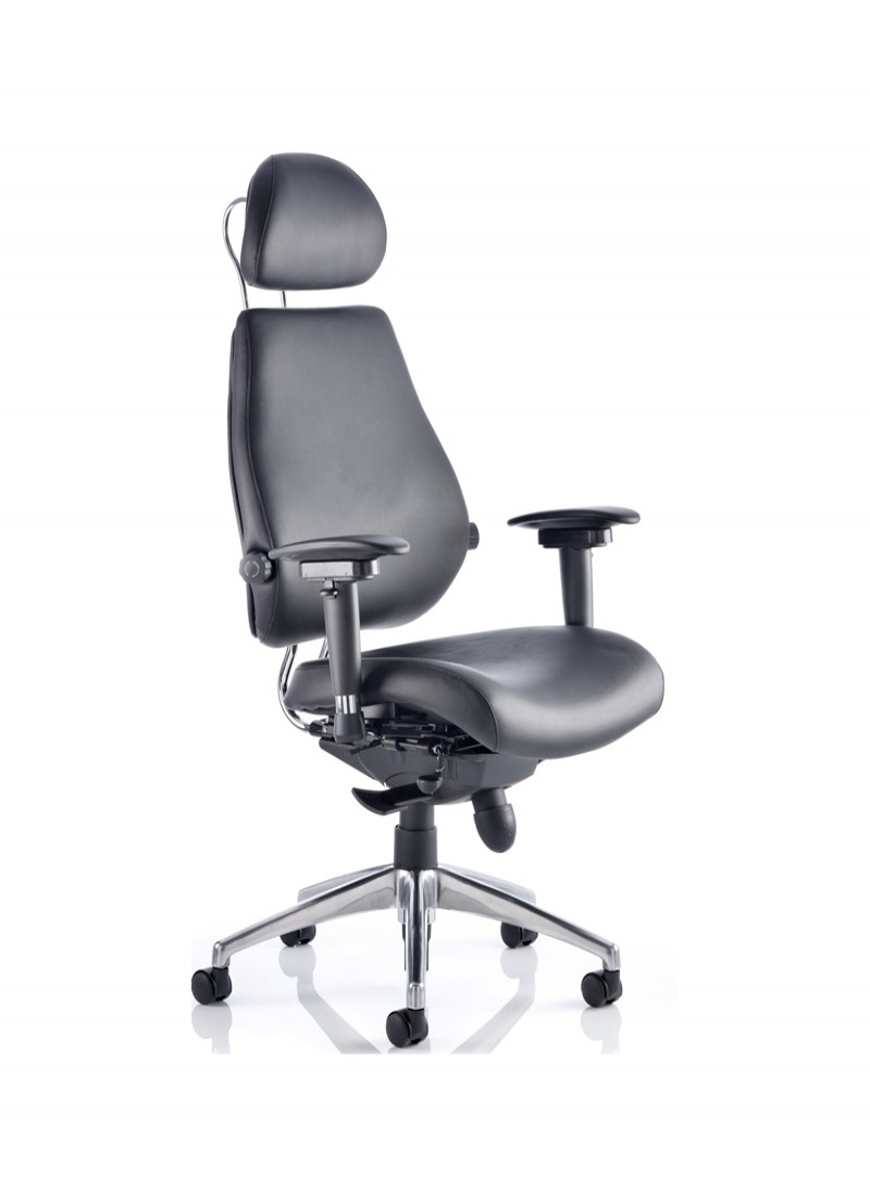 dynamic chiro plus ultimate leather office chair 121 office furniture
