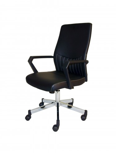 Alphason Brooklyn Faux Leather Office Chair AOC3122-BLK