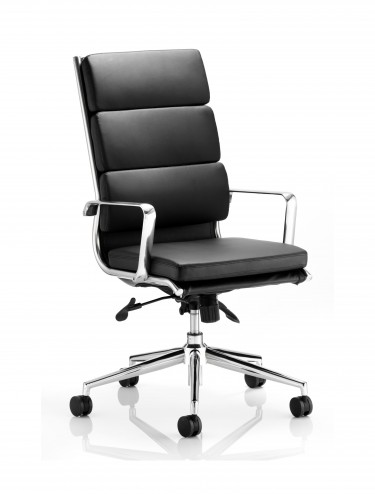 Dynamic Savoy Black High Back Executive Chair