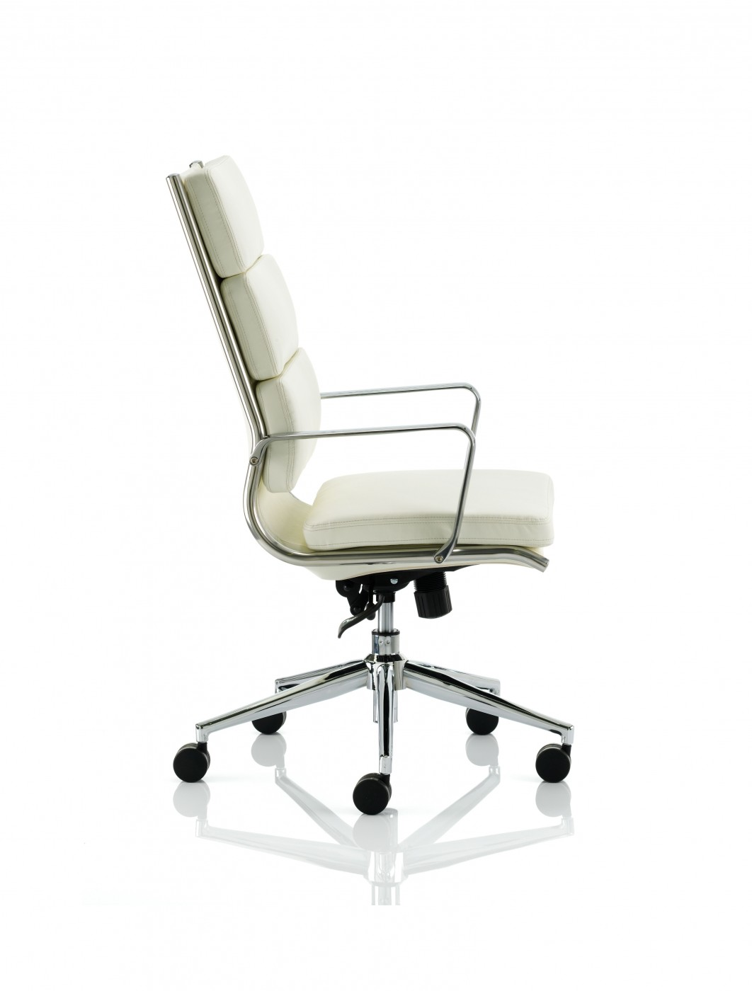 Dynamic Savoy High Back Executive Chair White 121 Office Furniture