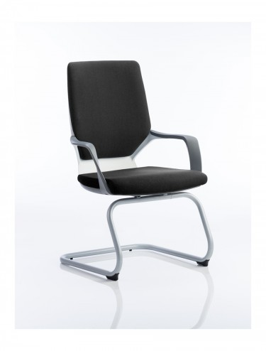 Dynamic Xenon Black Fabric Visitor Chairs BR000140