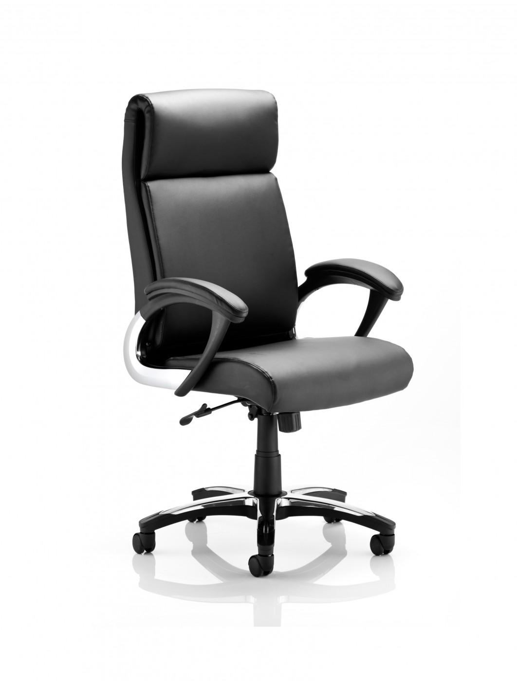 dynamic romeo leather folding executive office chair | 121 office