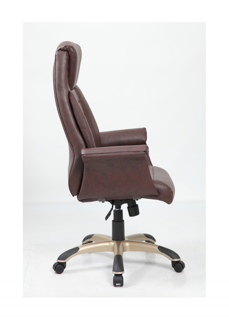Riga gull wing leather executive office chair bcl c365 bw for Furniture riga