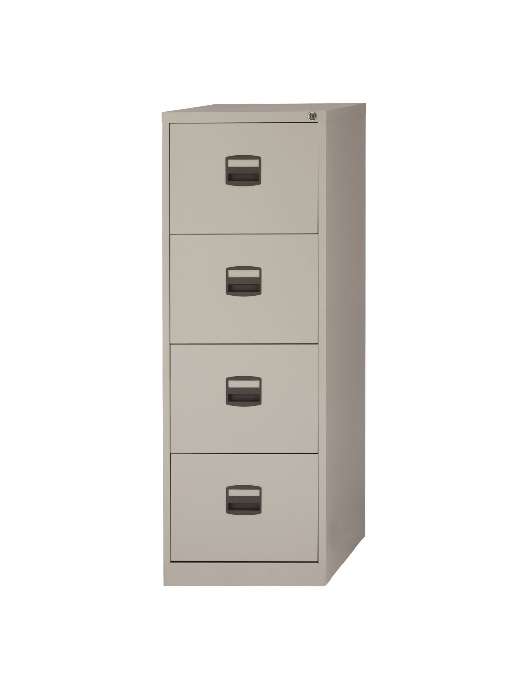 Bisley 4 Drawer Economy Contract Filing Cabinet DCF4   Enlarged View Design Ideas