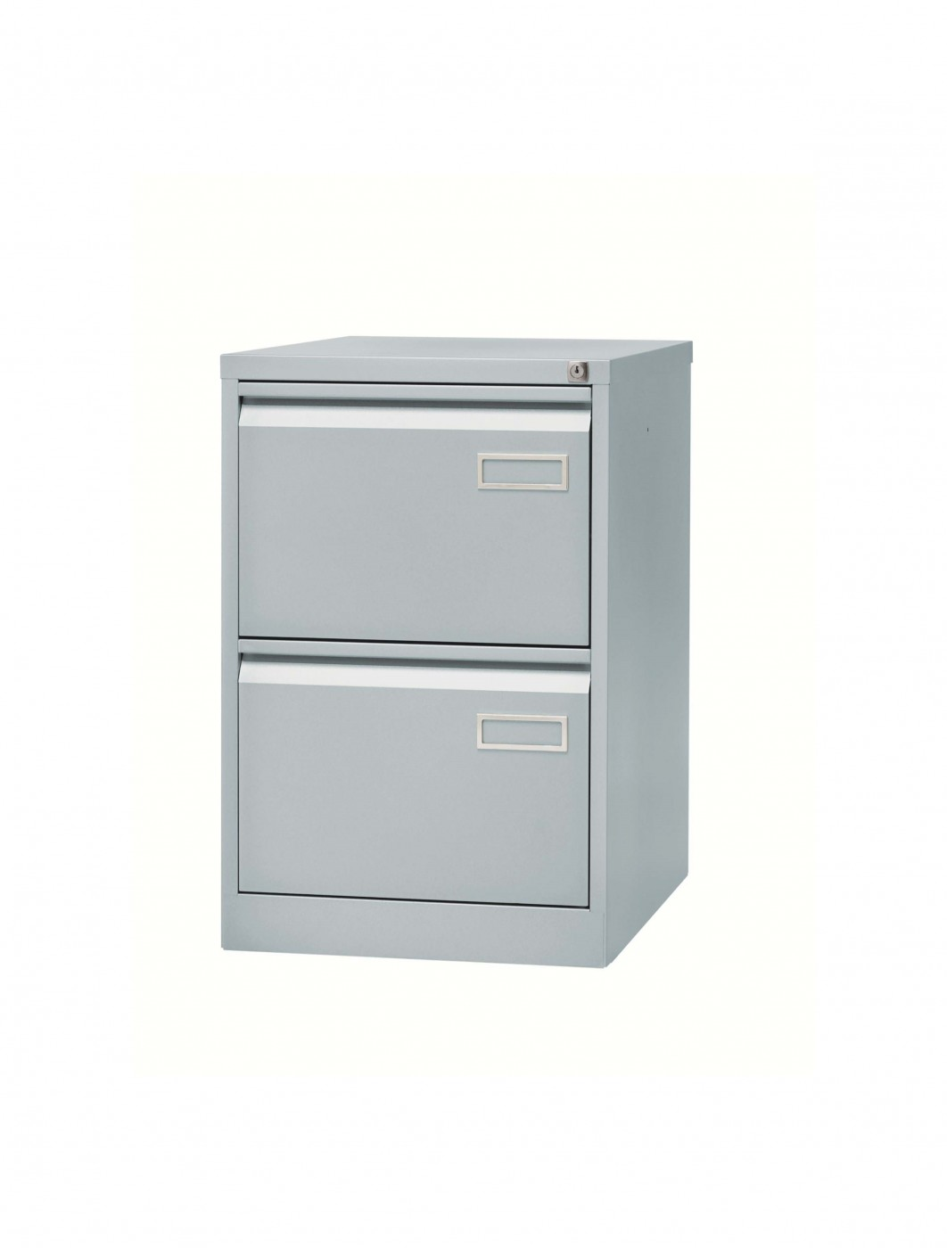 bisley 2 drawer contract filing cabinet bpsf2 enlarged view