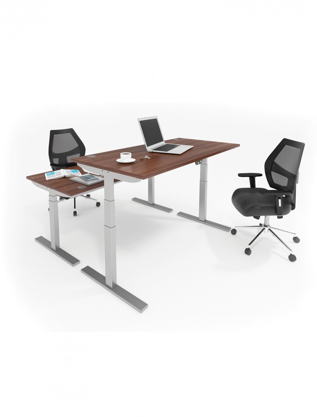 1200mm Wide Elev8 Sit Stand Desk Ev12s 121 Office Furniture