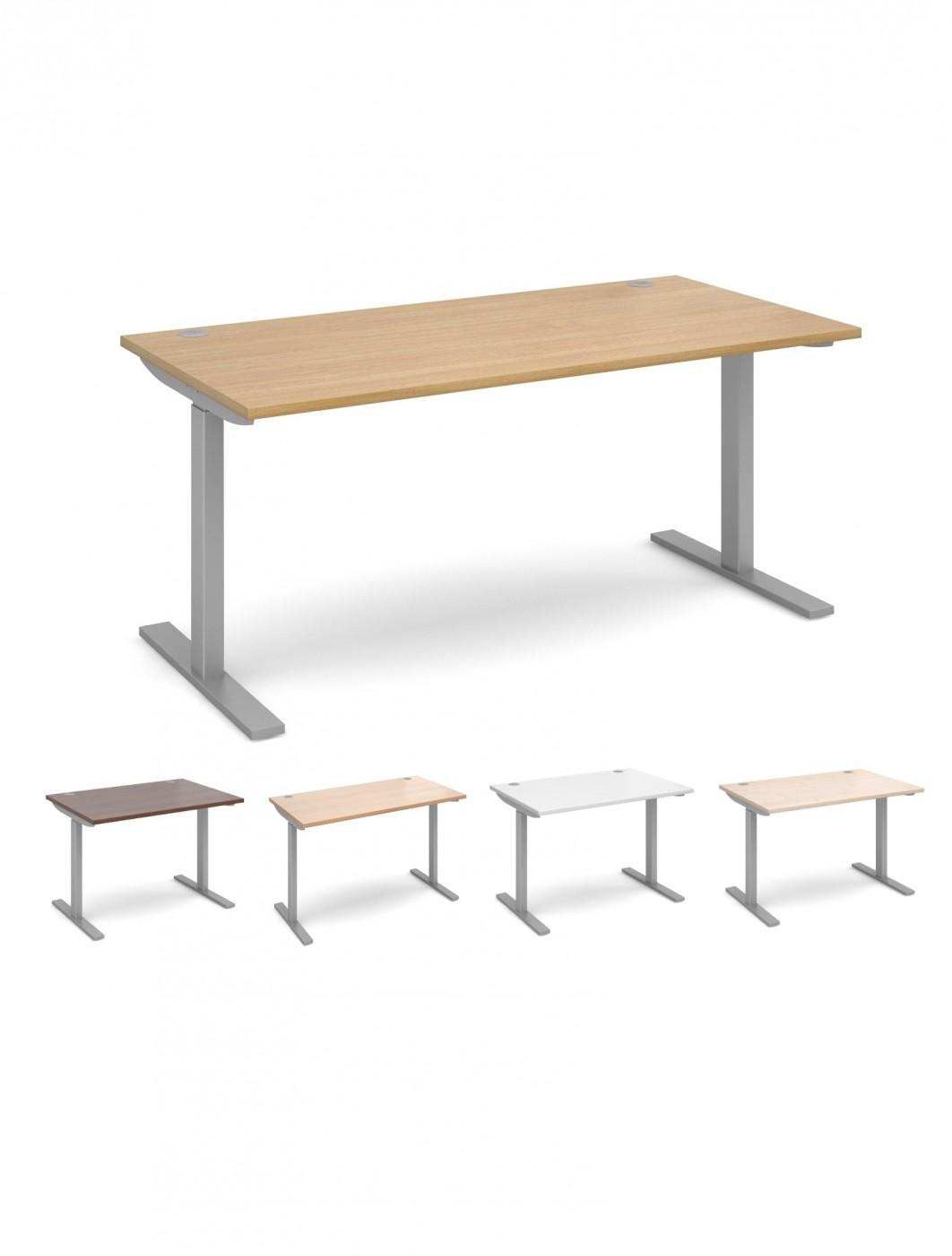 Sit Stand Office Desk EV16S 1600mm Wide Elev8   Enlarged View