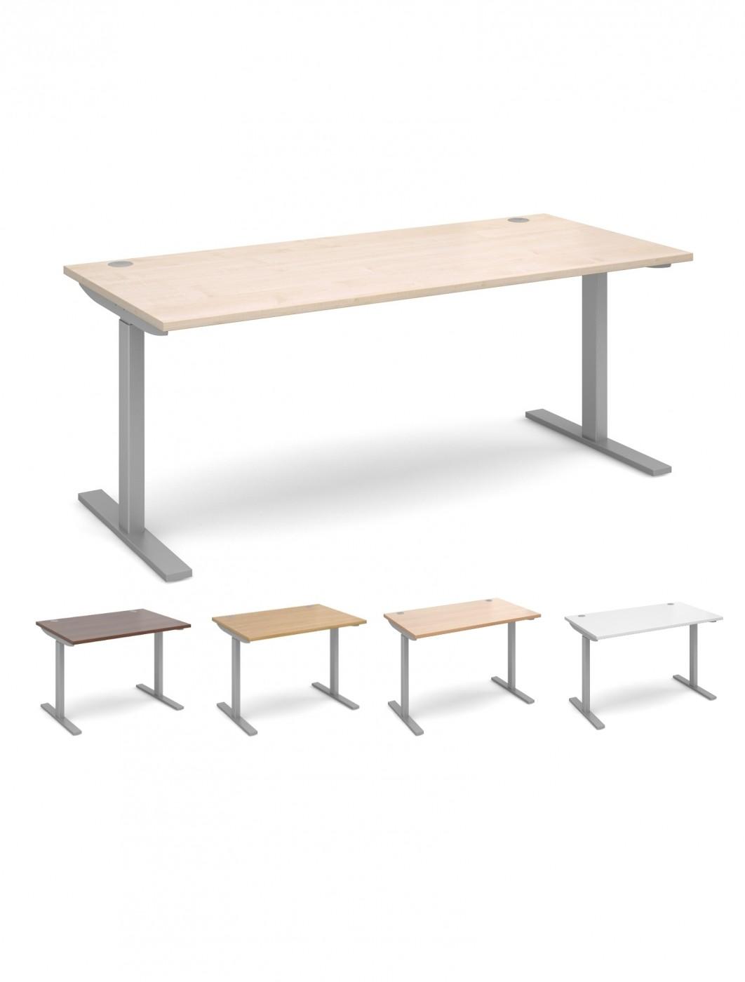 Sit Stand Office Desk EV18S 1800mm Wide Elev8   Enlarged View