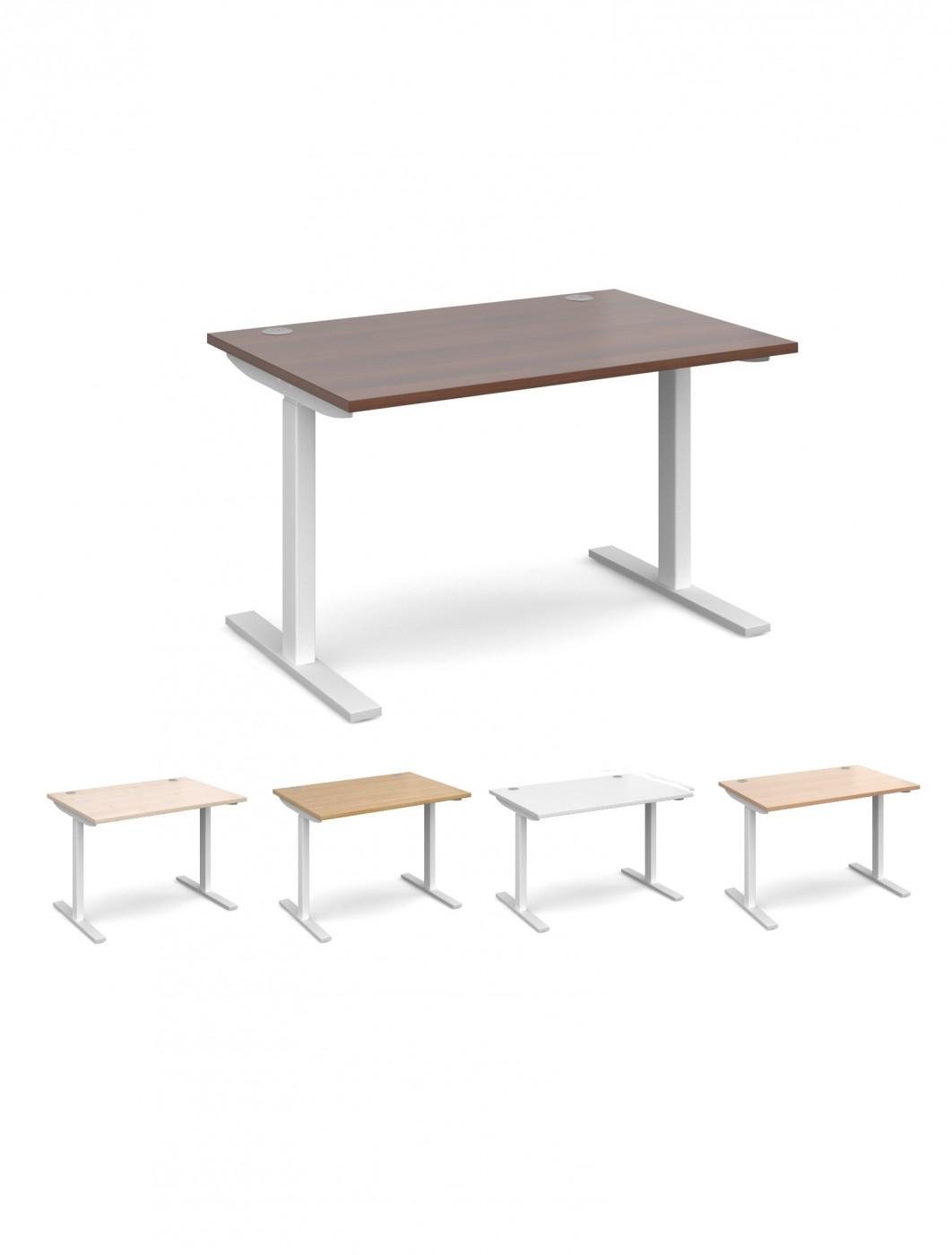 Wide Office Desk Sandhurst Gra K3y321 Large Executive