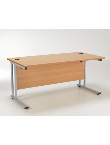TC Lite Rectangular Desk 1600mm LITE1680RECCLBE