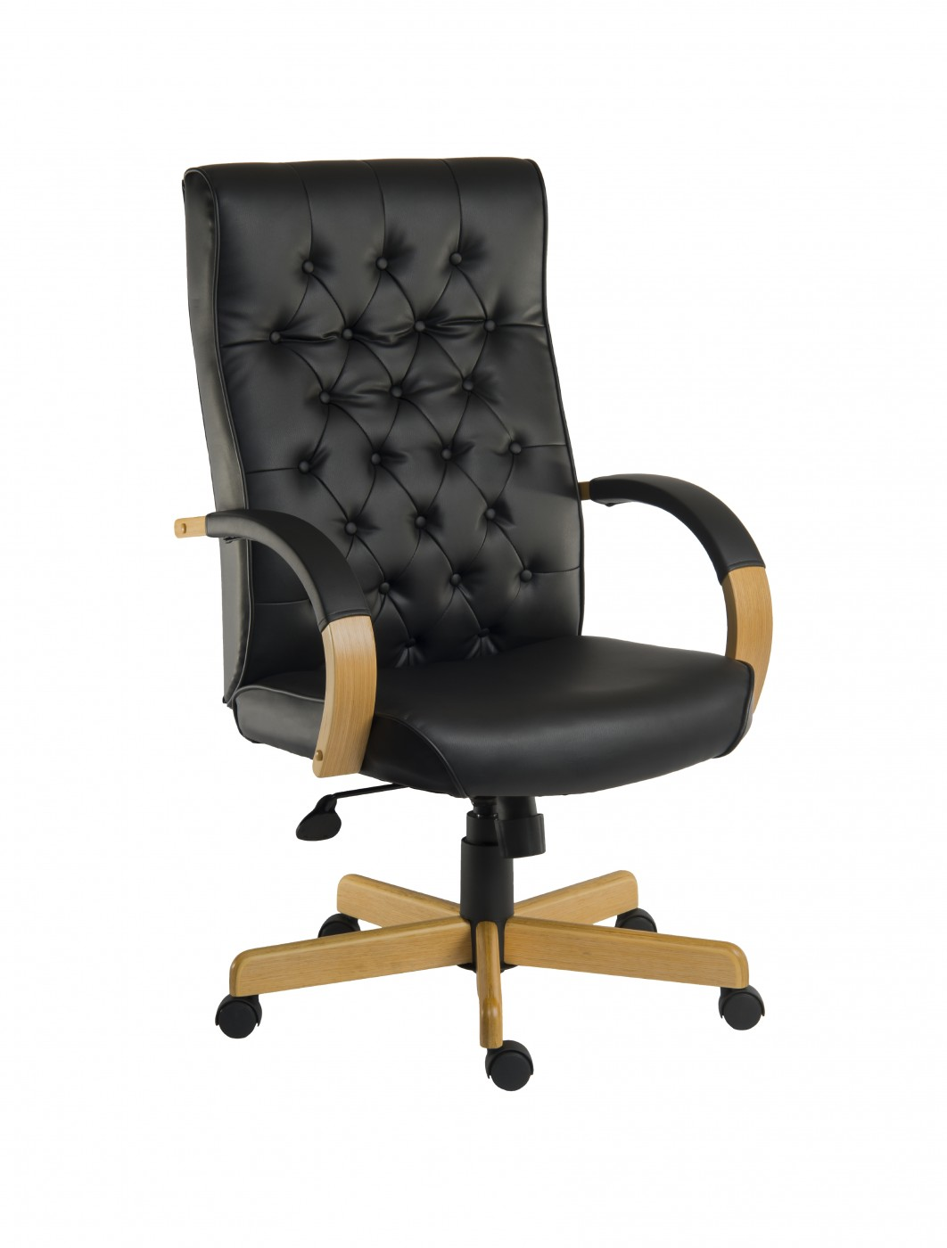 warwick noir leather executive chair b8501m 121 office furniture