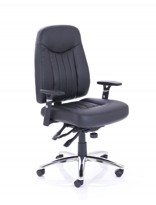 Barcelona Plus Leather Operators Chair
