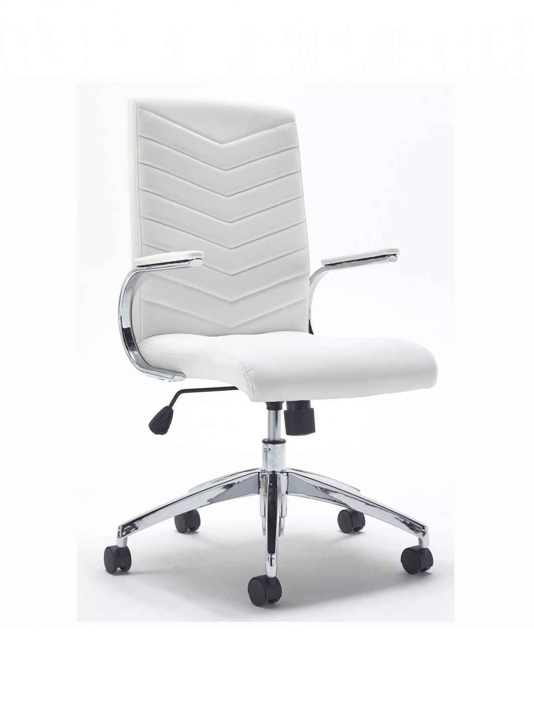 tc lite 1600mm desk pedestal and baresi chair bundle white 121
