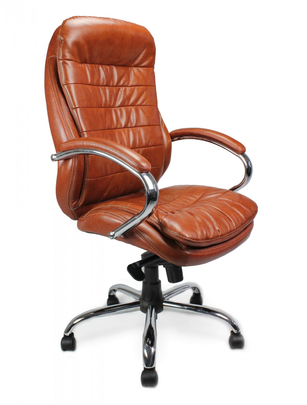 Santiago High Back Leather Faced Executive Armchair 618KTAG