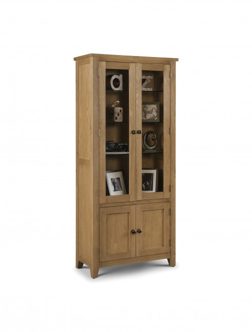 Julian Bowen Astoria Glazed Display Cabinet AST011