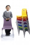 Metalliform ST Chairs - Age 6-8 Years Polypropylene Classroom Chairs ST3 - enlarged view