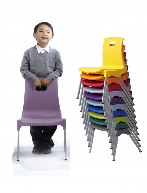 Classroom Chairs - Metalliform ST Chairs - Age 6-8 Years Polypropylene Classroom Chairs ST3