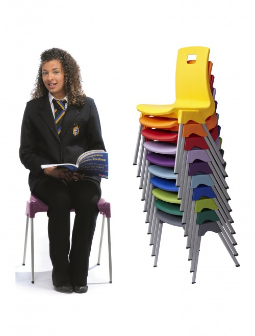 Classroom Chairs - Metalliform ST Chairs - Age 14+ Years Polypropylene Classroom Chairs ST6