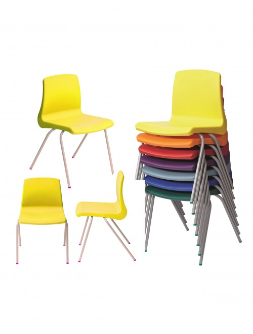 Metalliform NP Chairs - Age 4-6 Years Polypropylene Classroom Chairs NP2