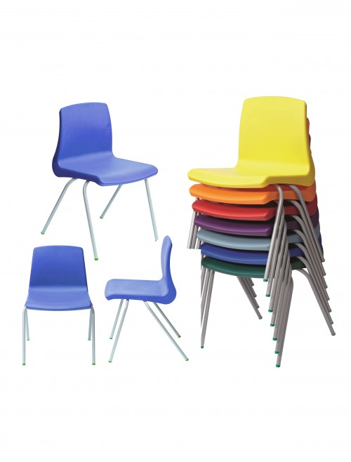 Metalliform NP Chairs - Age 8-11 Years Polypropylene Classroom Chairs NP4
