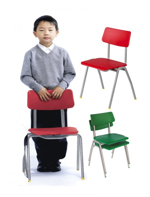 Classroom Chair Metalliforms BS Chairs - Age 6-8 Years Polypropylene Classroom Chairs BSC