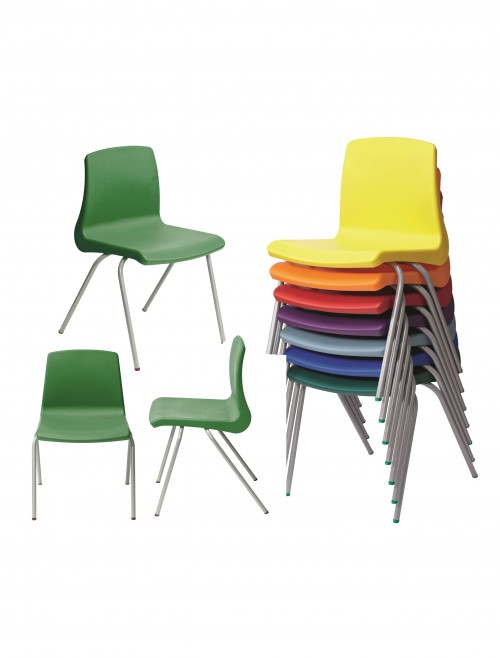 Metalliform NP Chairs - Age 11-14 Years Polypropylene Classroom Chairs NP5