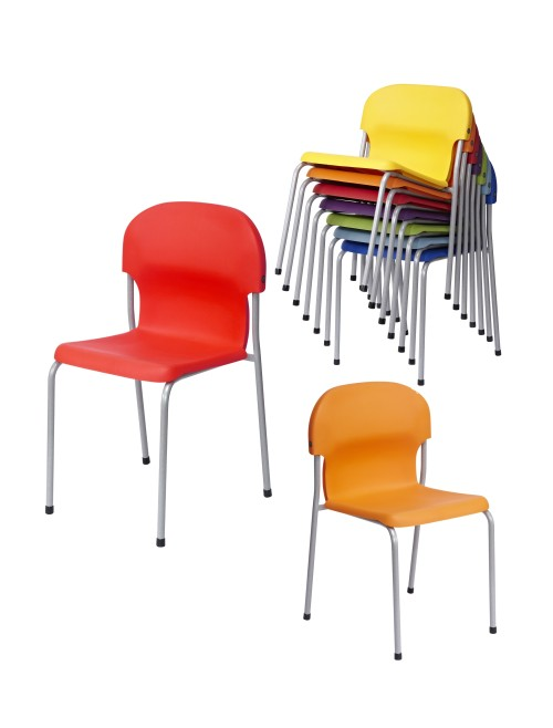 Metalliform Chair 2000 Chairs - Age 4-6 Years Polypropylene Classroom Chairs 2018