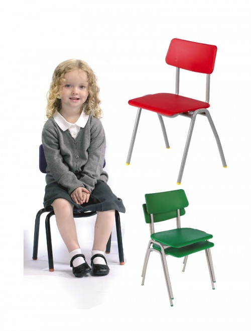 Classroom Chair Metalliforms BS Chairs - Age 3-4 Years Polypropylene Classroom Chairs BSA
