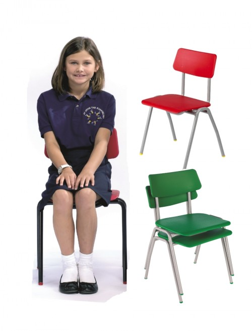 Classroom Chair Metalliforms BS Chairs - Age 8-11 Years Polypropylene Classroom Chairs BSD