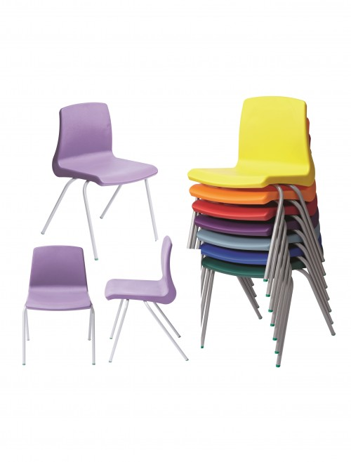 Metalliform NP Chairs - Age 14+ Years Polypropylene Classroom Chairs NP6