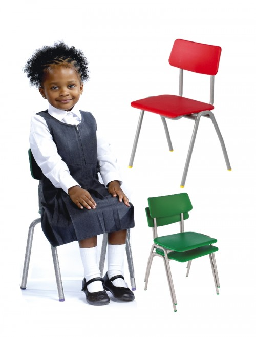 Classroom Chair Metalliforms BS Chairs - Age 4-6 Years Polypropylene Classroom Chairs BSB
