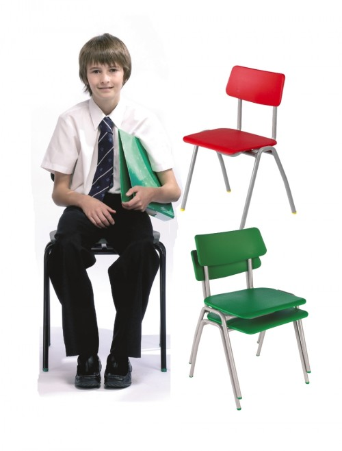 Classroom Chair Metalliforms BS Chairs - Age 11-14 Years Polypropylene Classroom Chairs BSE