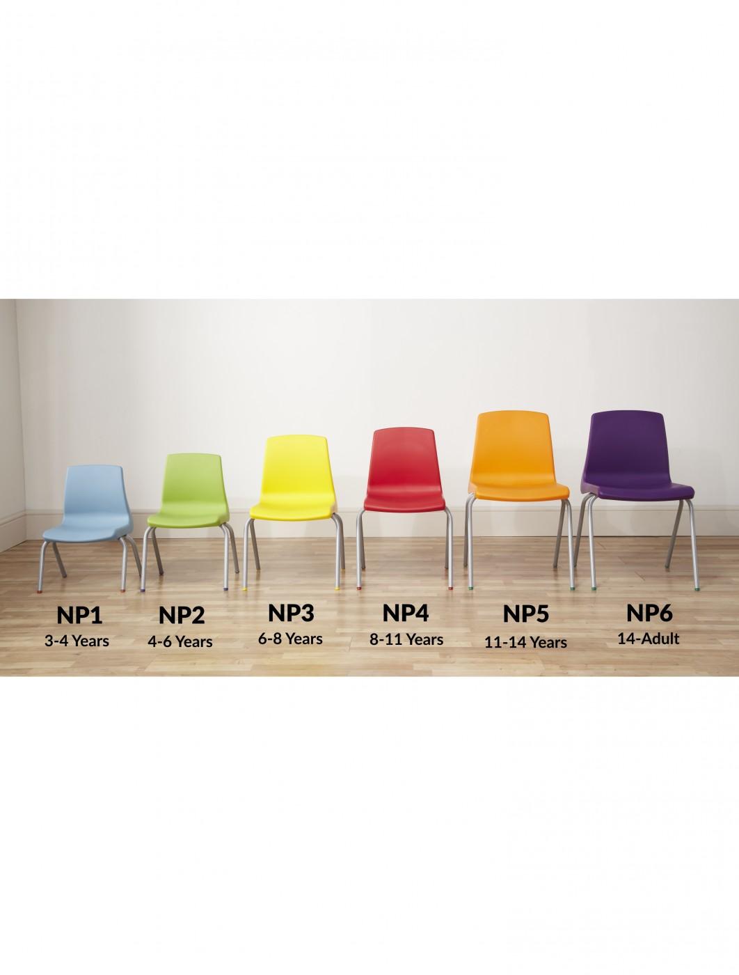 Metalliform NP2 Stacking Classroom Chair | 121 Office Furniture