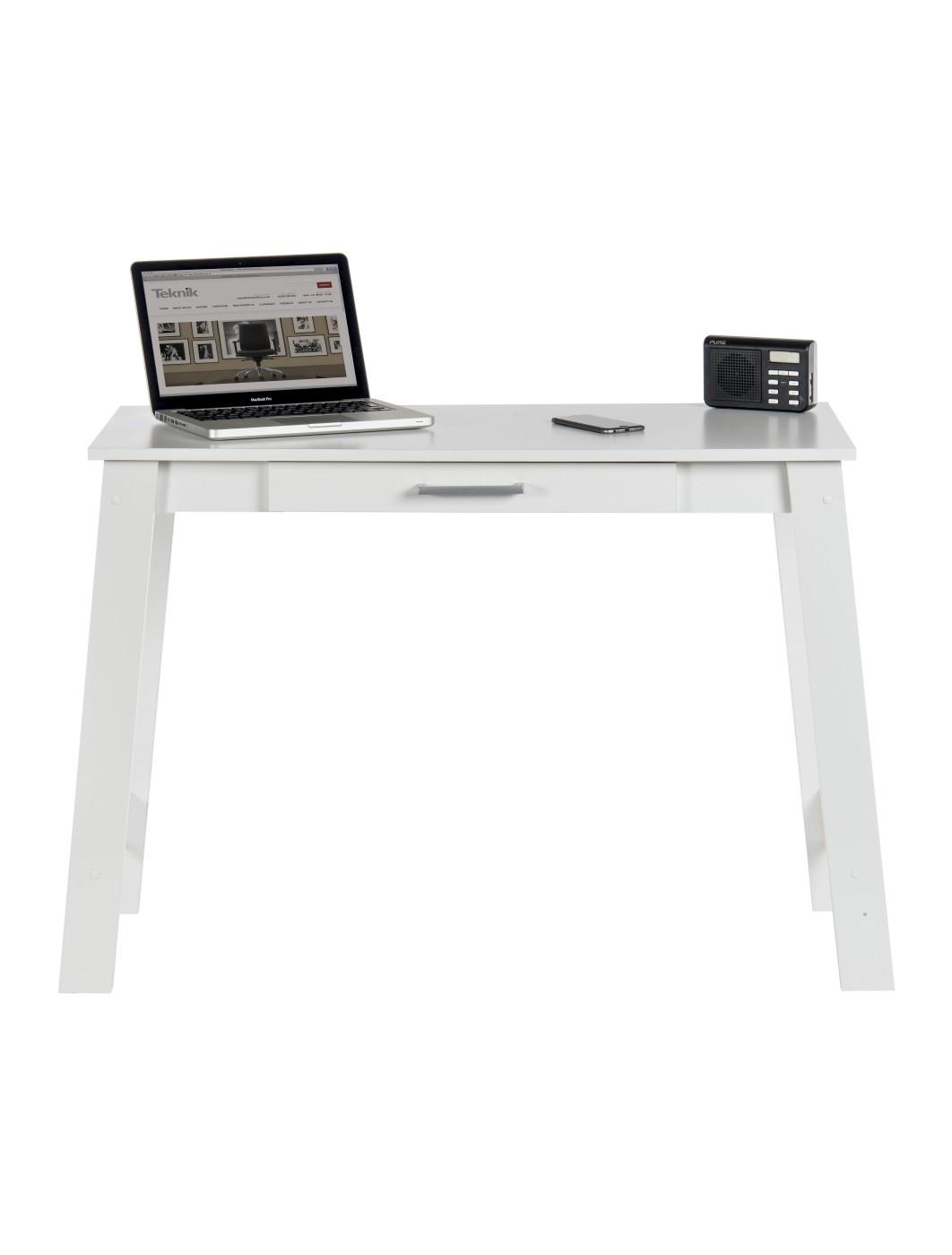 teknik trestle desk soft white enlarged view