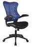Eliza Tinsley Mercury 2 Executive Mesh Chair Blue