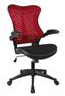 Eliza Tinsley Mercury 2 Executive Mesh Chair Red